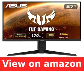 Best IPS 144Hz Gaming Monitor for Rx 5700 XT