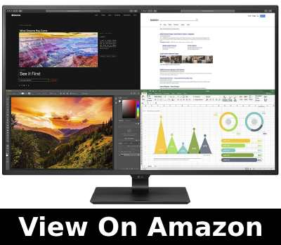 Best monitor for viewing construction plans